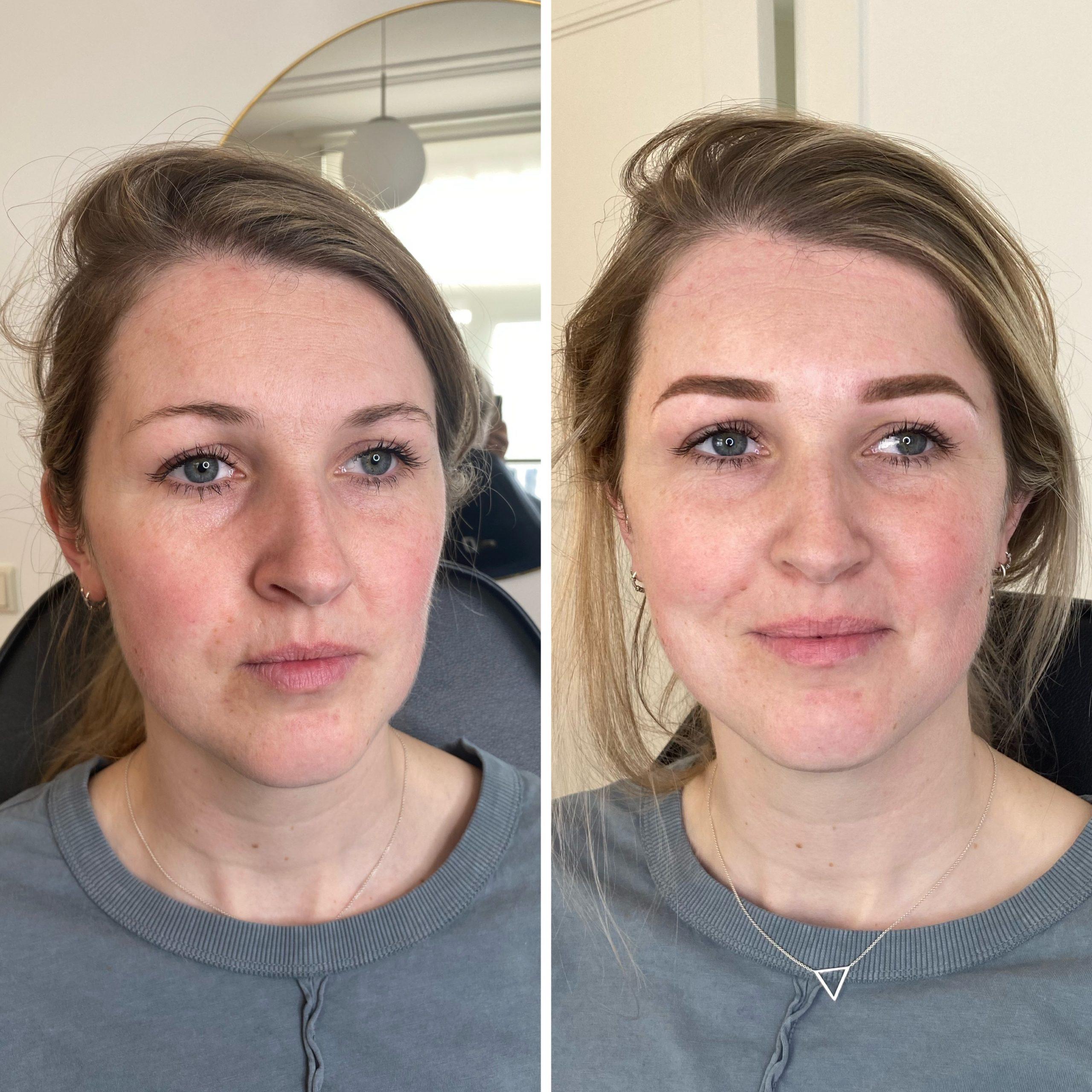 PMU Powder brows